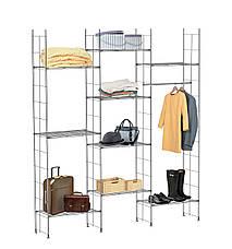 Стойка 1720Х355 мм. Проволочная гардеробная система Kolchuga. (офисное хранение, стелаж), фото 2