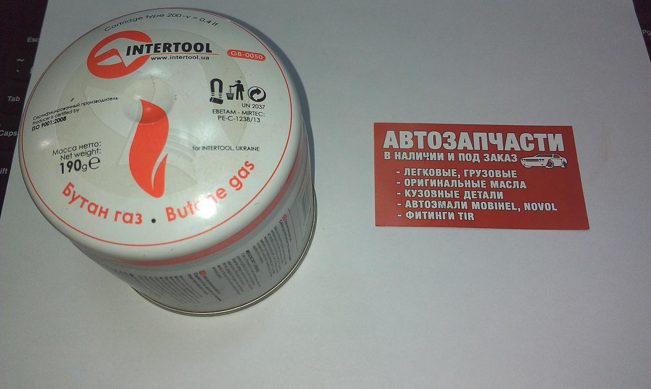 Картридж газовой горелки Intertool
