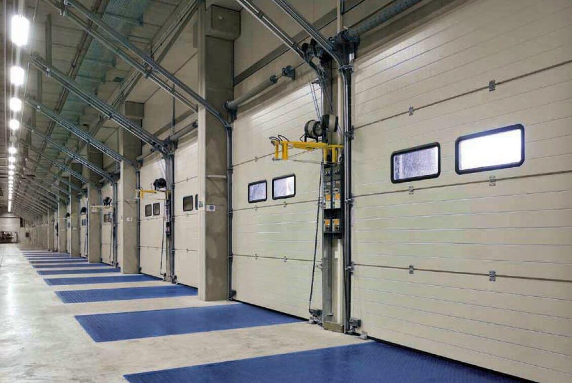 Промышленные ворота Alutech 5000х3085 мм