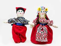Кукла Украинка пара большая танцующая