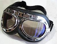 Очки, мотоочки, мотоциклетные очки, авиационные, ретро стиль,защитные