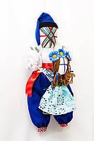 Кукла- мотанка Vikamade Крестный папа с крестницей.