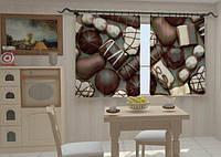 Фотоштора в кухню Конфеты