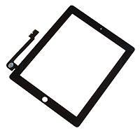 Оригинальный сенсорный экран iPad 4 черный (тачскрин, стекло в сборе)