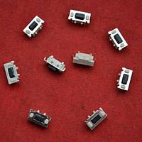 Кнопки, микрики для ремонта ключей №11 Торцевые для двусторонних брелков