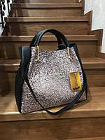 Женская сумка 675КЛ Пудра