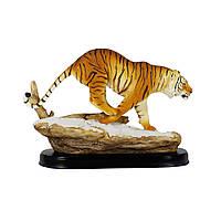 Статуэтка Тигр на скале 19*10*24 Гранд Презент SM00597