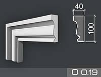 Наличник фасадный из пенопласта О 0.19