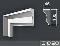 Наличник фасадный из пенопласта О 0.20