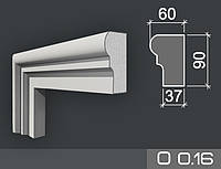 Наличник фасадный из пенопласта О 0.16