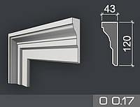 Наличник фасадный из пенопласта О 0.17