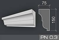 Подоконники фасадные из пенопласта 35 плотности армированные акриловым составом.