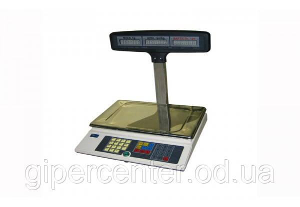 Весы торговые Промприбор ВТА-60/15-5-Т-А CИ 15 кг 2/5 г