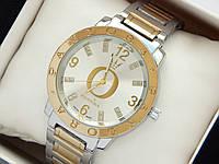 Комбинированные часы Pandora c буквой О и короной, блестки на метках, фото 1