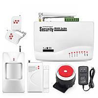Охранная GSM сигнализация Kerui 10A, полный комплект