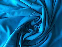 Трикотаж французский голубой, фото 1