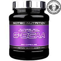 Аминокислоты Scitec Nutrition G-BCAA 250 caps.