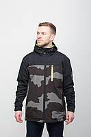 Куртка мужская ветровка RS5 CAMO Urban Planet камуфляжная S