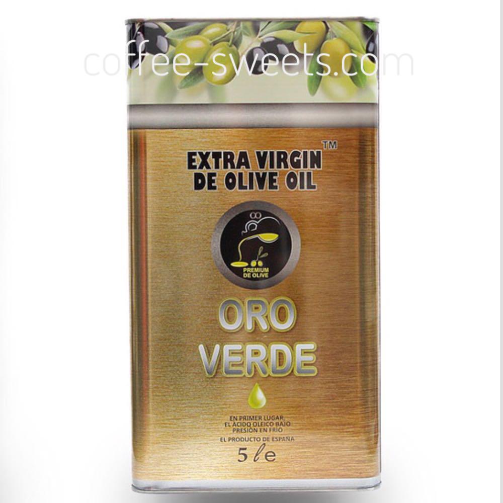 Масло Оливковое 5л Oro Verde
