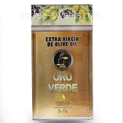 Масло Оливковое 5л Oro Verde, фото 2