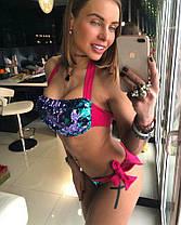 Раздельный купальник с пайетками тв-03021-6, фото 2