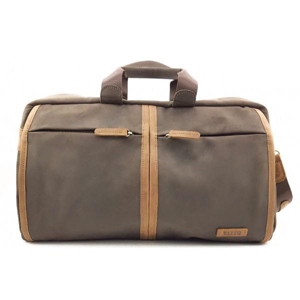 Дорожная сумка из натуральной кожи VATTO