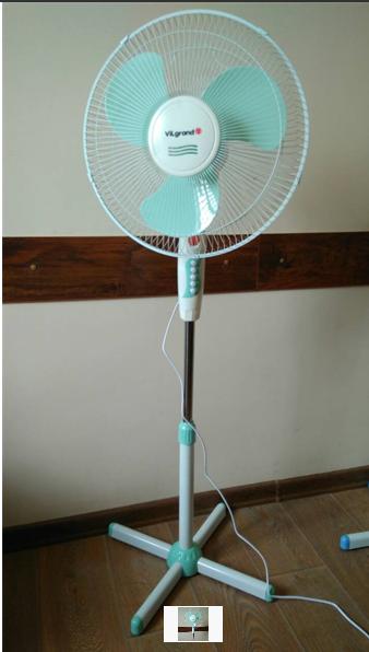 Вентилятор напольный ViLgrand VF401_mentol