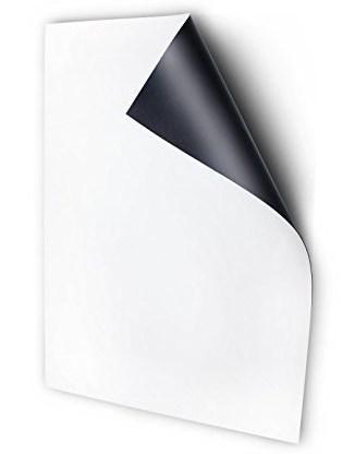Магнитный винил 0,9мм с клеевым слоем формат А4