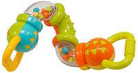 Игрушка-погремушка Baby Team Зигзаг Разноцветная (8444)