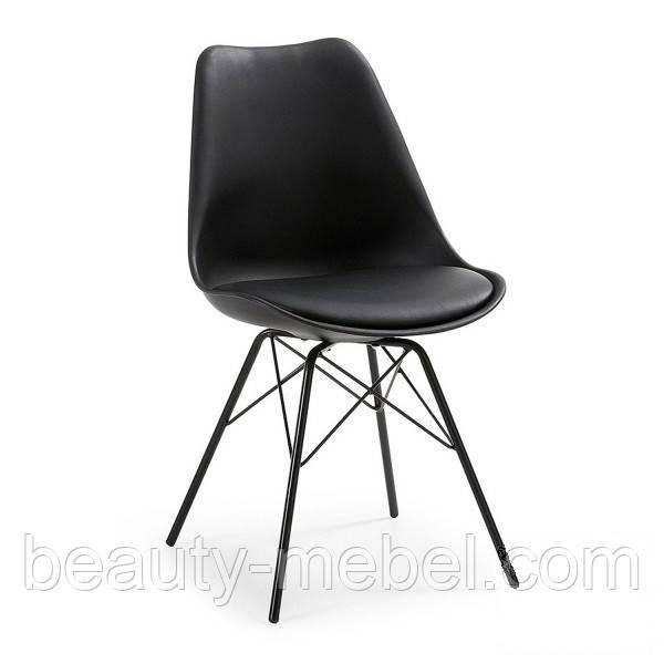 Дизайнерский стул Тау,черный.