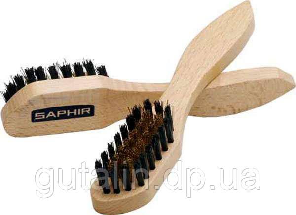 Металлическая щетка для замши Saphir Metal Brush