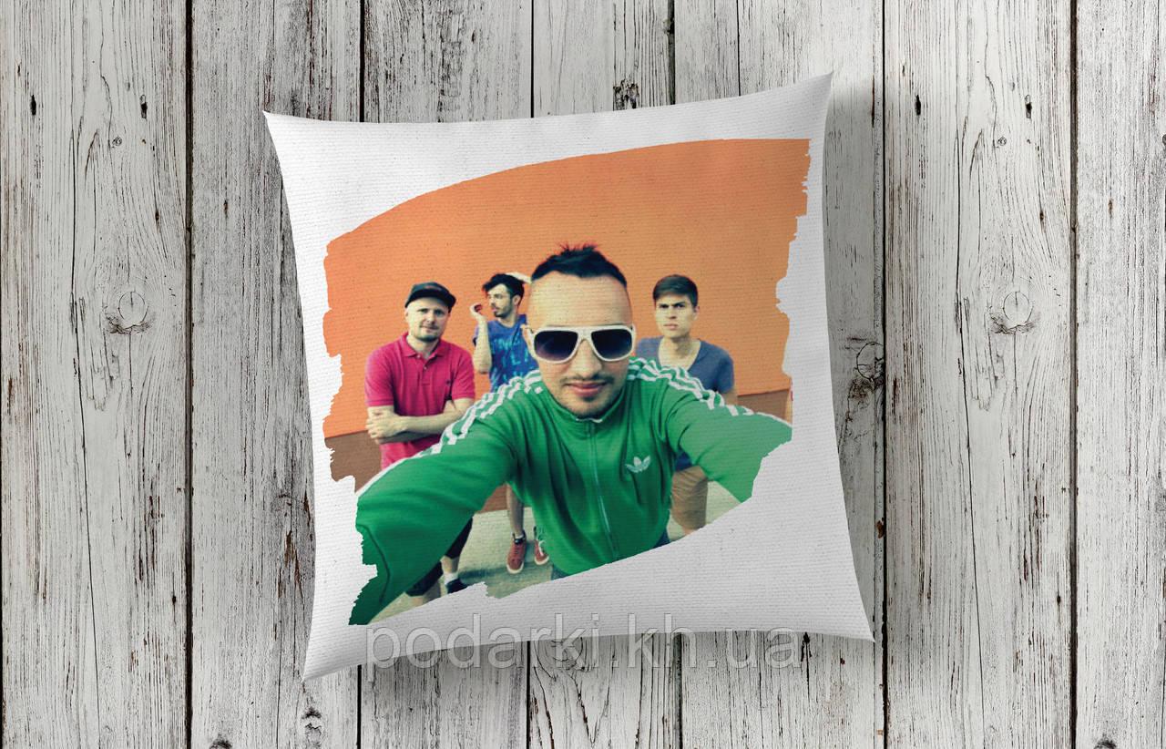 Креативная подушка с фото