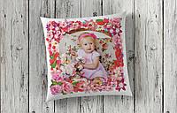 Подушка с фото для маленькой принцессы