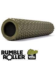 Ролик массажный RumbleRoller Gator 56×11,5 см (зеленый)