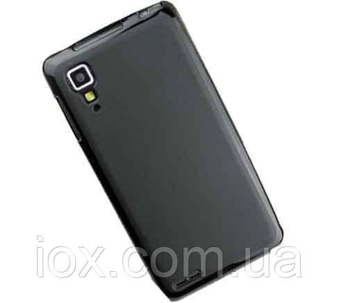 Силиконовый чехол черный для Lenovo P780, фото 1