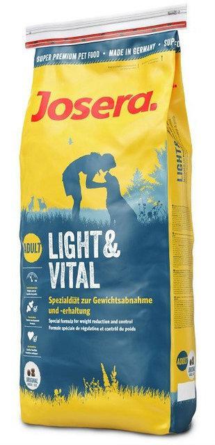 Josera Light and Vital 15 кг - корм з ягням для малоактивних собак