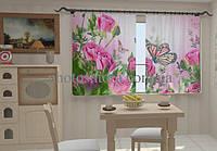 Фотоштора Розовые нотки в кухне