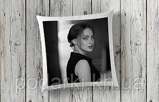 Подушка с фото в подарок