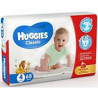 Подгузники Huggies Classic 4 (7-16кг), 68шт MEGA PACK