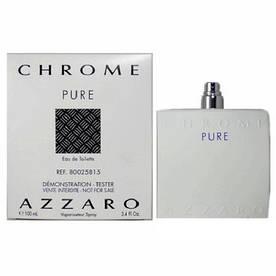 Тестер мужской Azzaro Chrome Pure, 100 мл