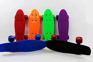 Детский скейт с PVC колесами