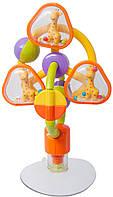 Игрушка-погремушка Baby Team Карусель Разноцветная (8455)
