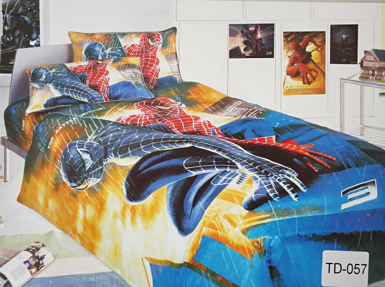 Детское сатиновое постельное белье Elway 3D TD-057