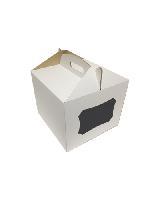 Коробка для ТОРТА 300*300*250 (с окном)