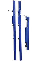 """Стойки волейбольные с креплением  в """"стакан"""". Внутренне устройство натяжения сетки. Регулируемая высота сетки."""