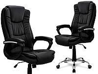 Кресло офисное HOME FEST AMBIENTE Черное НАЛИЧИЕ