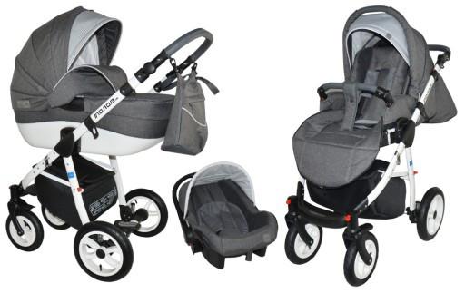 Многофункциональная детская коляска MONO.E 3в1