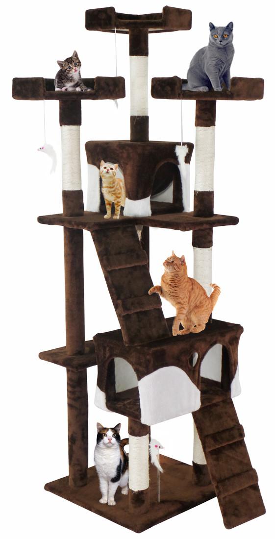 Когтеточка, домик для кота 170 см