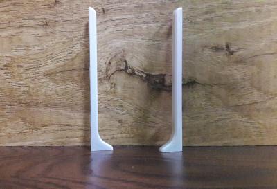 Торцевые заглушки к алюминиевому плинтусу ПА-8011