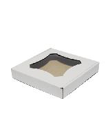 Коробка для пряников 190*190*30 (белая)